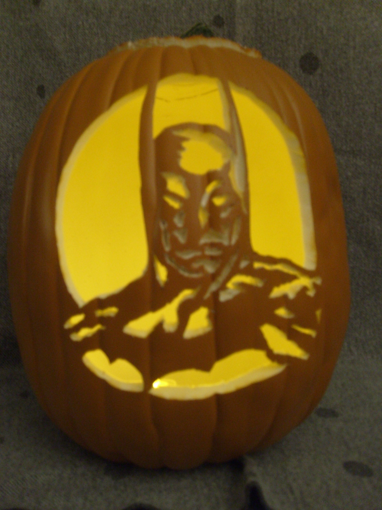 2010 Pumpkin Carving Batman Pumpkins Batman Amber
